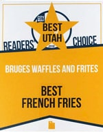 City Weekly Best French Fries 2019 - Bruges Belgian Bistro